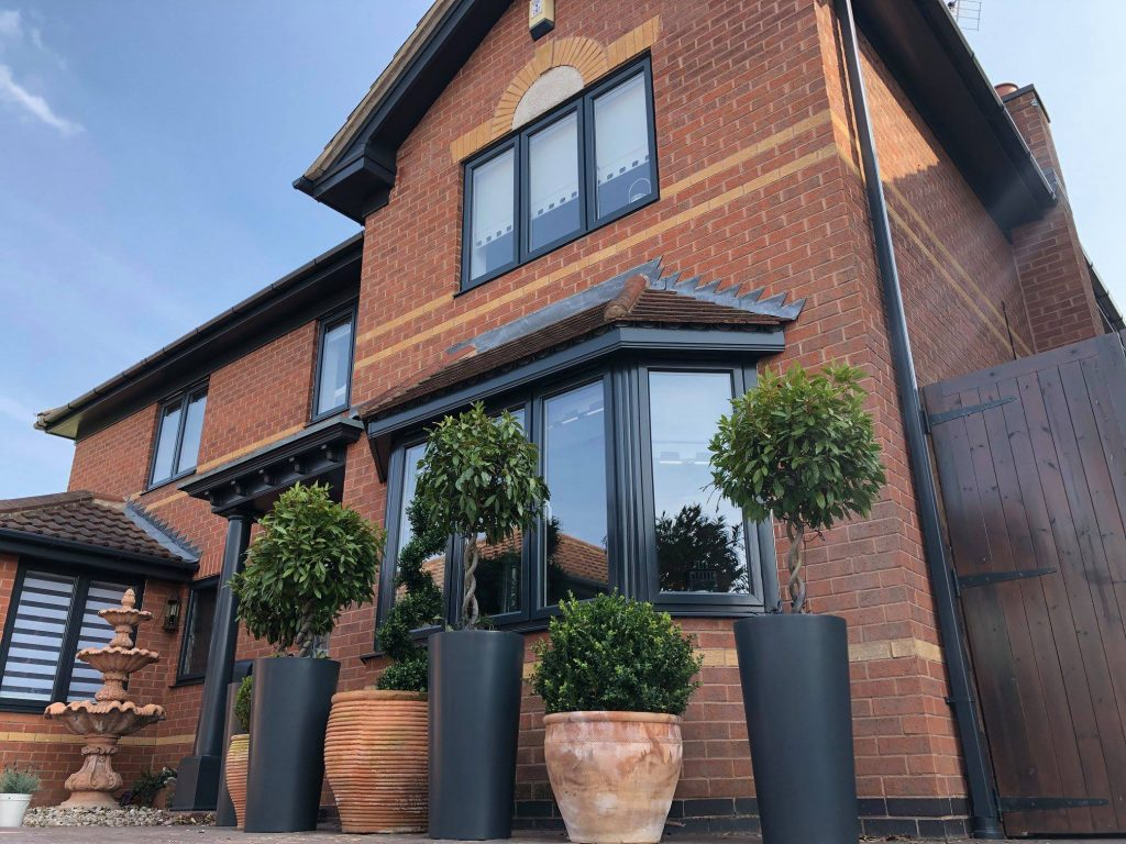 Favourite Long Eaton House After uPVC Sprayed