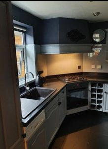 After picture of kitchen respray