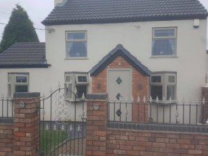 Home Sprayed Farrow and Ball Grey 17
