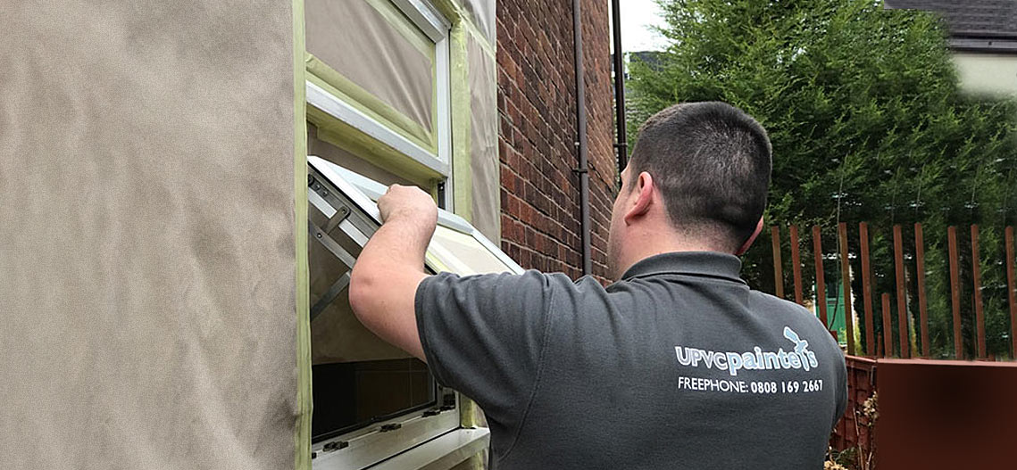 fitting-upvc-painted-window